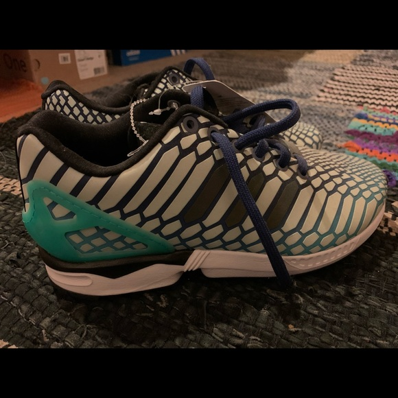 adidas zx flux k mint
